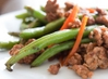 Candice�s Low Carb Chinese Green Beans with Ground Pork